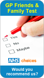 Would you recommend Wolverhampton Road Surgery to Friends and Family?